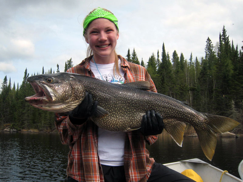 Fly-in Trophy Lake Trout