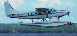 Fly-In Fishing Trips at Sydney Lake Lodge | Fly-In on This Cessena Caravan