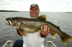 Trophy Lake Trout Caught in The Spring